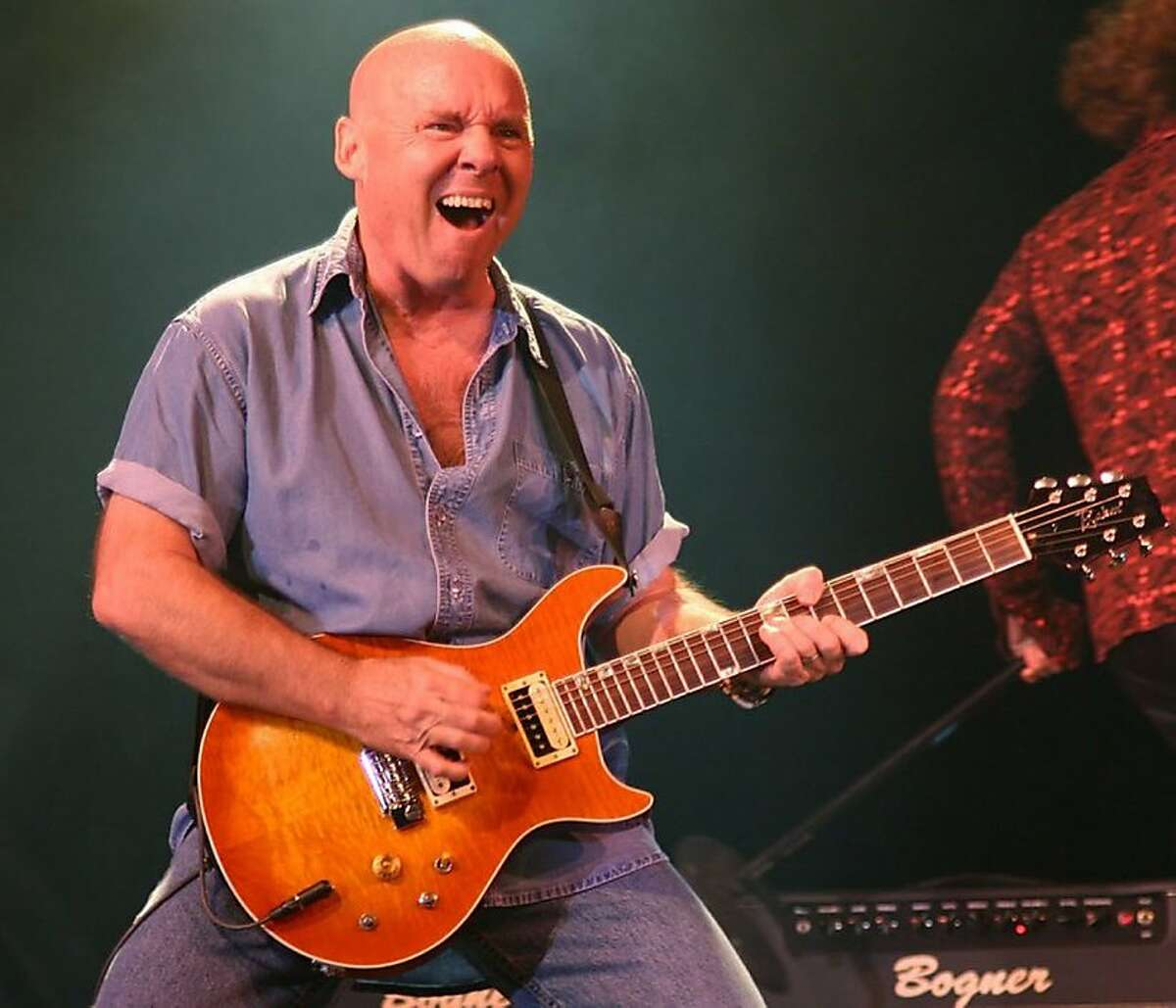 This undated photo provided by Prime Time Entertainment Inc. shows Rock guitarist Ronnie Montrose. Montrose, who formed the band that bore his name and performed with some of rock's heavy hitters, passed away at his home in Millbrae, Calif. on Saturday, March 3, 2012, his booking agent said. He was 64. (AP Photo/Prime Time Entertainment Inc)