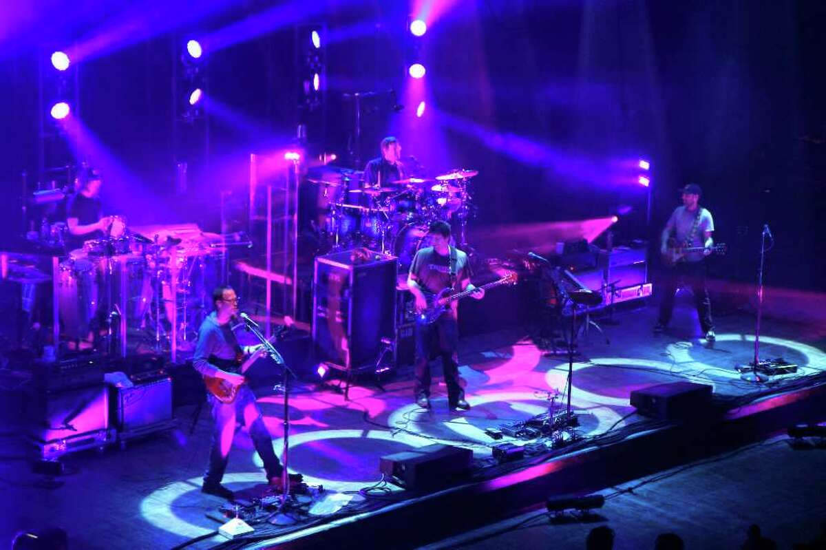 A soldout moe. concert at the Palace Theatre on March 3, 2012. (File photo.)