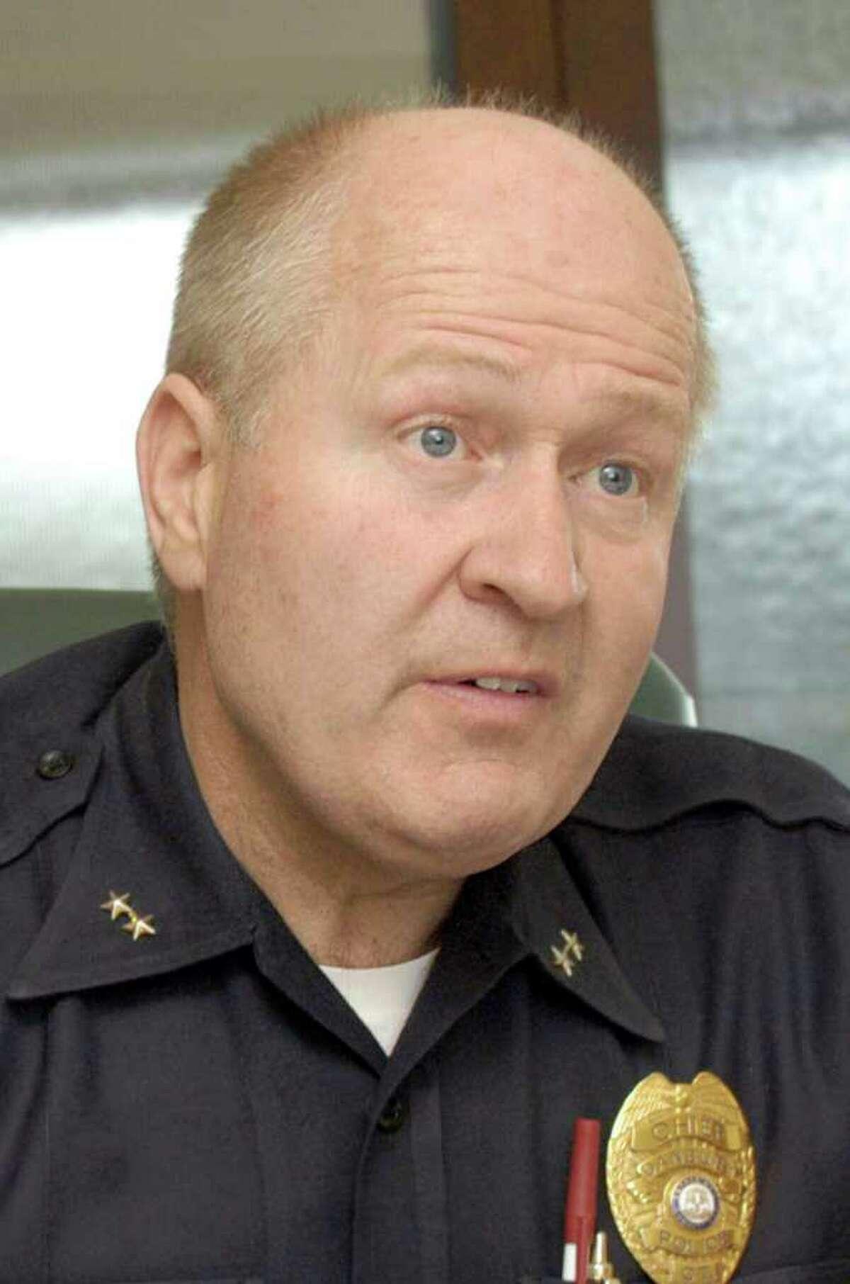 Danbury Police Chief Al Baker