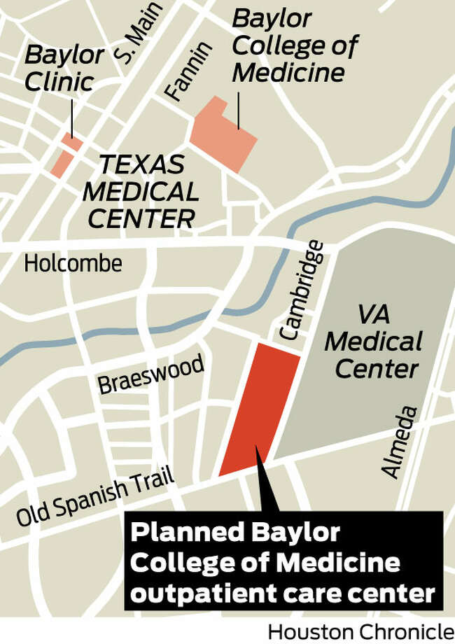 Baylor hospital project to be outpatient center Houston Chronicle