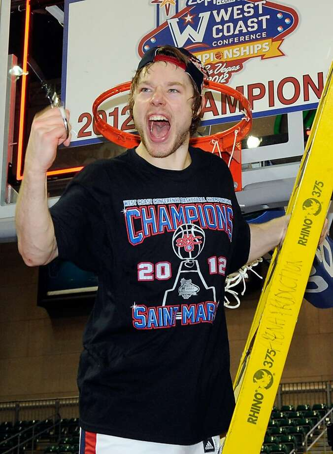Matthew Dellavedova and St. Mary's beat Gonzaga to win the regular-season WCC championship. (See question 26.) Photo: Ethan Miller, Getty Images