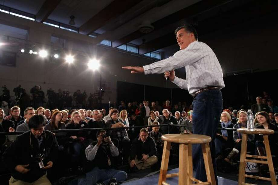 """I like being able to fire people who provide services to me.  You know, if someone doesn't give me the good service I need, I want to say, 'You know, I'm going to get someone else to provide this service to me"" -- Mitt Romney, Nashua, N.H., Chamber of Commerce,  January, 2012."