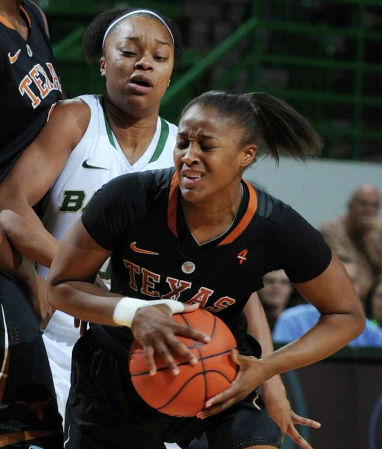 Texas A&M coach Gary Blair says Texas' guard play, led by senior Yvonne Anderson, is a big reason the Longhorns have improved down the stretch. Photo: Rod Aydelotte / FR36102 AP