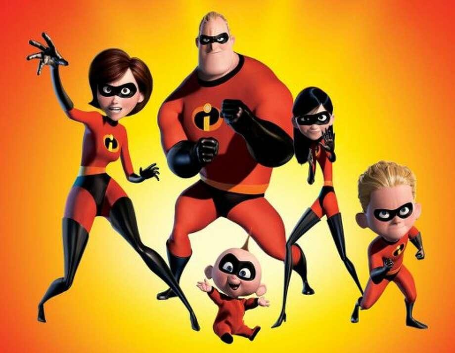 The Incredibles, 2004 (Pixar)