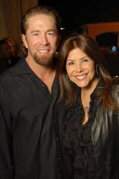 Former Houston Astro Jeff Bagwell, shown with wife Ericka in 2009, has been subpoenaed the trial. Rachel Brown has testified that she began dating Bagwell months after her fight with her husband. (Dave Rossman / For the Chronicle)