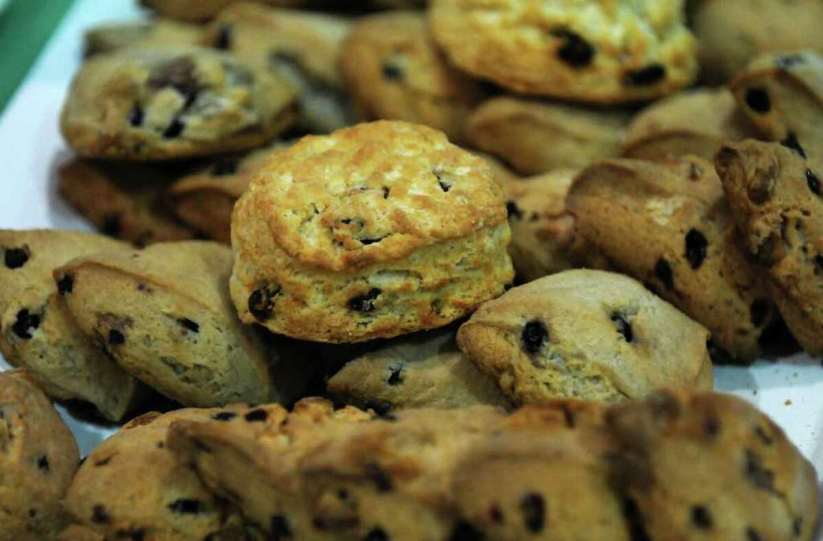Scones for sale at the 8th annual Irish Fest, at St. Francis of Assisi Church on Sunday March 4, 2012 in Albany, N.Y. (Philip Kamrass / Times Union )