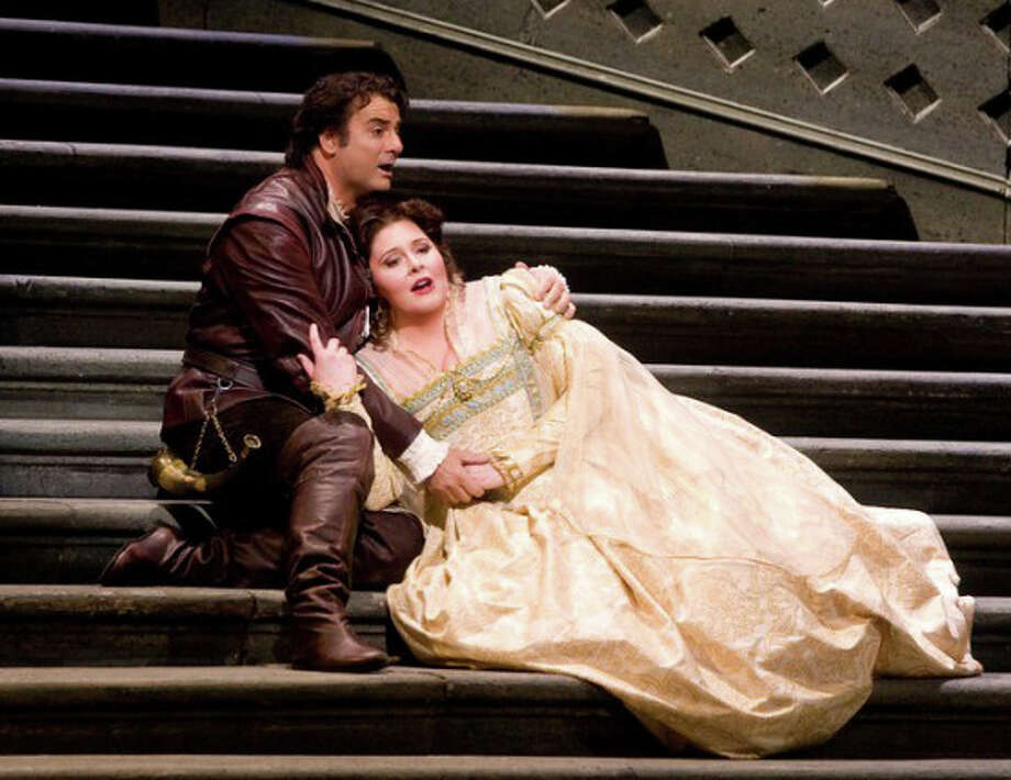 "The 2011-2012 Metropolitan Opera Radio Broadcast season continued with a live broadcast of Verdiís ""Ernani,"" featuring an acclaimed cast. Photo: Contributed Photo"