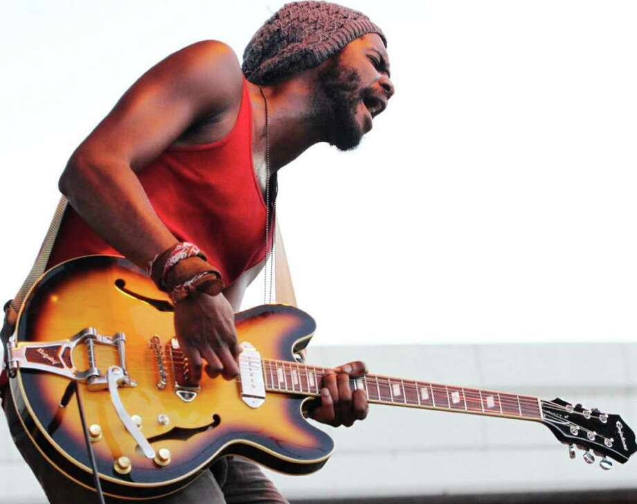 Rising blues-guitar star Gary Clark Jr. Photo: Courtesy Photo