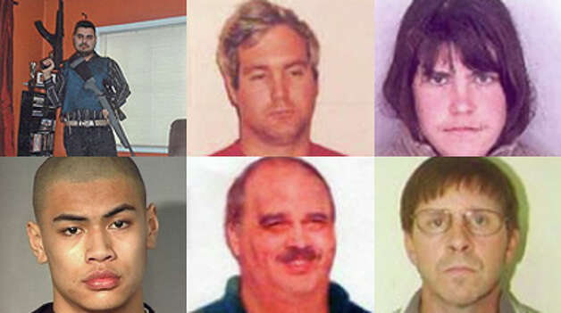 Dozens of convicts and suspects with ties to Washington have landed on most wanted lists maintained by federal authorities and Interpol. Among them are murder suspects, accused eco-terrorists, convicted child molesters, frauds and loads of drug traffickers. There's even a scofflaw polluter. Take a look at the missing criminals. Photo: Courtesy Of Federal Law Enforcement