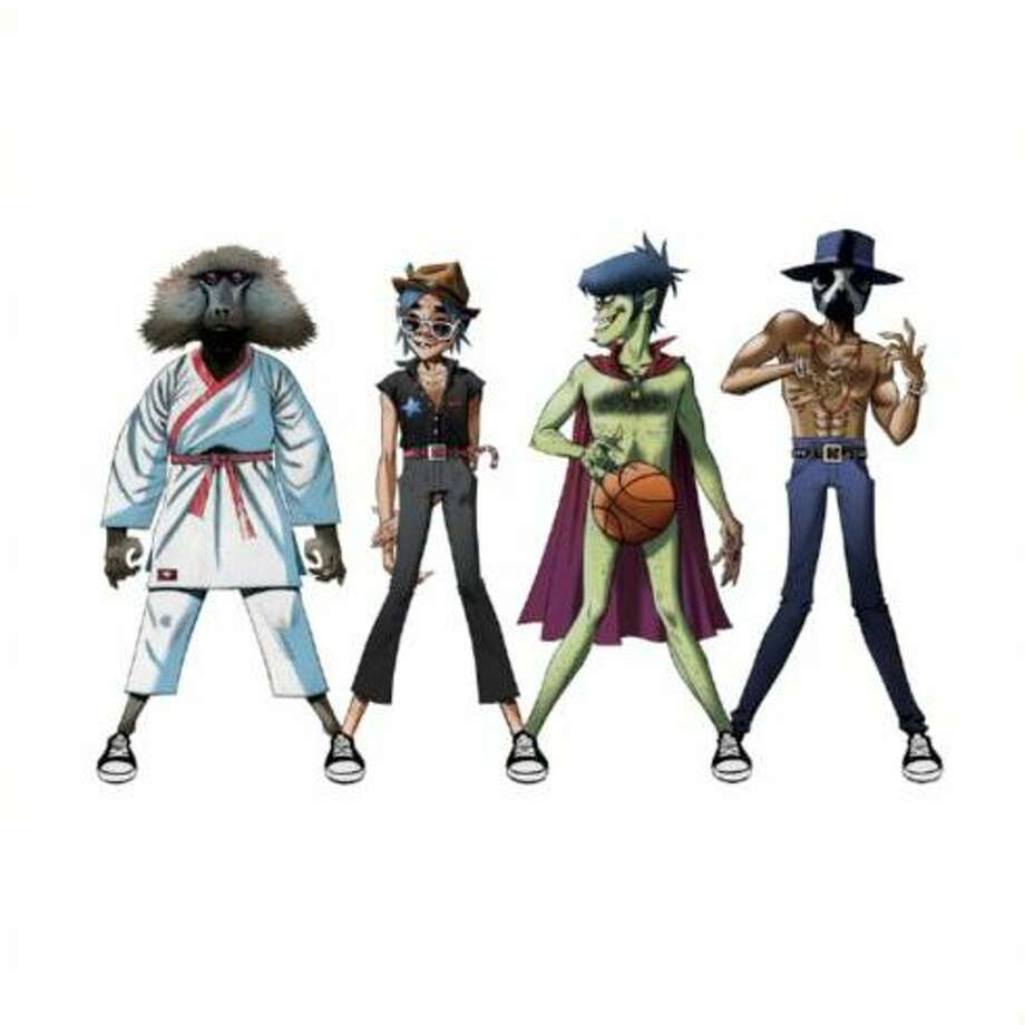"""DoYaThing"" by Gorillaz featuring André 3000 and James Murphy Photo: Converse"