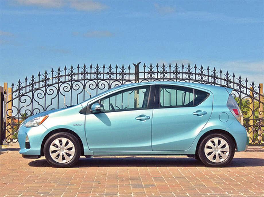 2012 Toyota Prius c (photo by Dan Lyons)