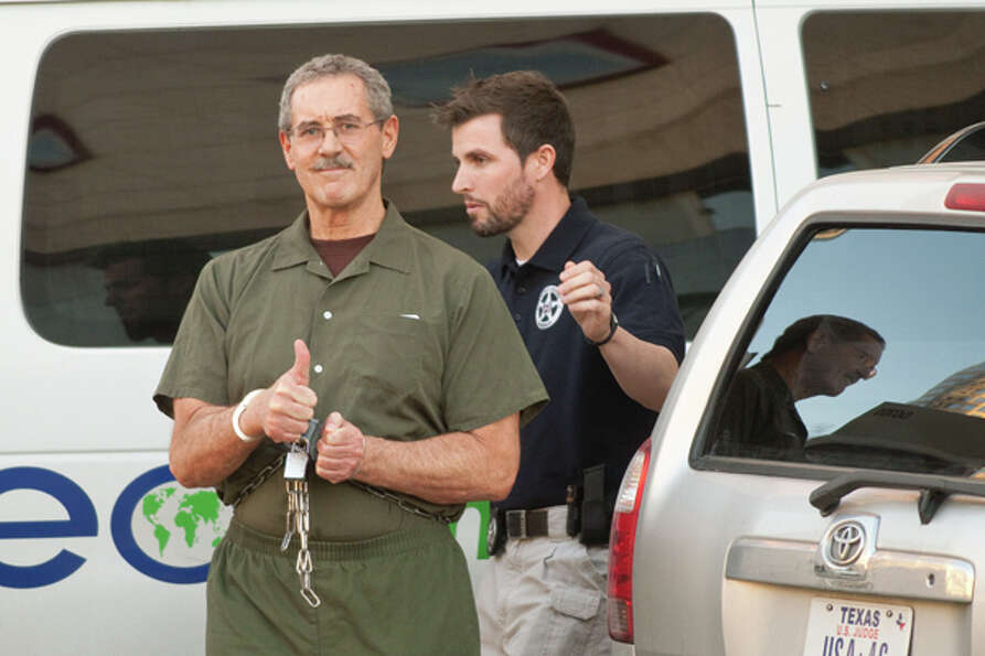 Indicted financier R. Allen Stanford, left, accused of leading a $7 billion investment fraud scheme,