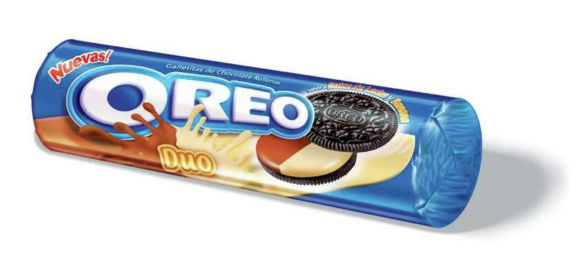 Chocolate-banana Oreo Cookies from Argentina.