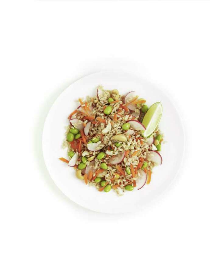 recipe; Brown Rice Salad Photo: Kate Mathis / Gourmet Home