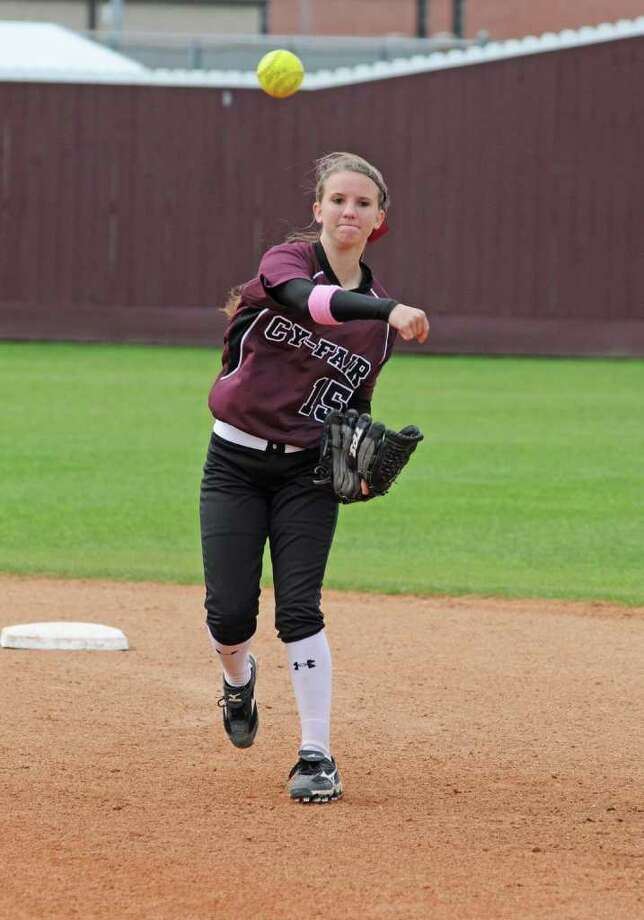 Cy-Fair freshman infielder Kinsley Fisher and the Lady Bobcats were off to a 12-4 overall start and 7-0 beginning in District 17-5A entering this week. Photo: L. Scott Hainline / For The Chronicle