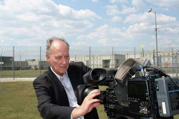 "Werner Herzog shoots ""On Death Row."" Photo: Investigation Discovery"