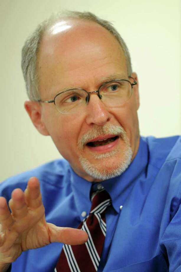 Paul Vallas, interim superintendent in Bridgeport, Conn., March 6th, 2012. Photo: Ned Gerard / Connecticut Post