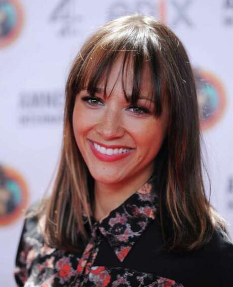Actress Rashida Jones arrives at Amnesty International's Secret Policeman's Ball Mar. 4 at Radio City Music Hall in New York. Photo: STAN HONDA, AFP/Getty Images / 2012 AFP/Getty Images