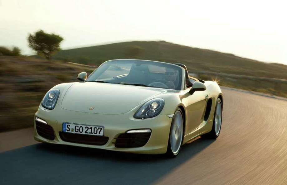 Porsche Boxster Photo: Via Bloomberg / Porsche AG