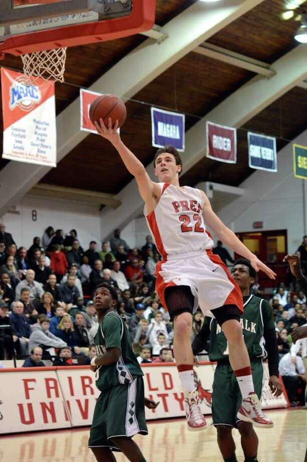 Fairfield Prep's Terry Tarpey is the Connecticut Post Super 15 Boys Basketball MVP for 2011-12. Photo: Amy Mortensen