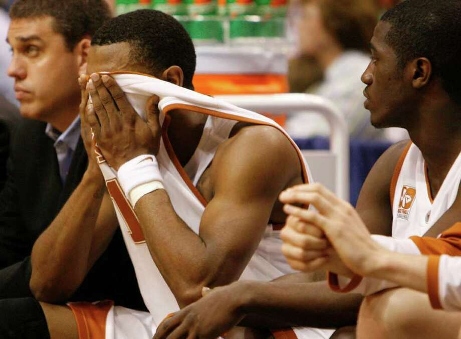 Daniel Gibson was one of the Texas players who experienced heartache in the Big 12 tournament when the Horns lost to Kansas in the 2006 title game. Photo: Nick De La Torre / Houston Chronicle