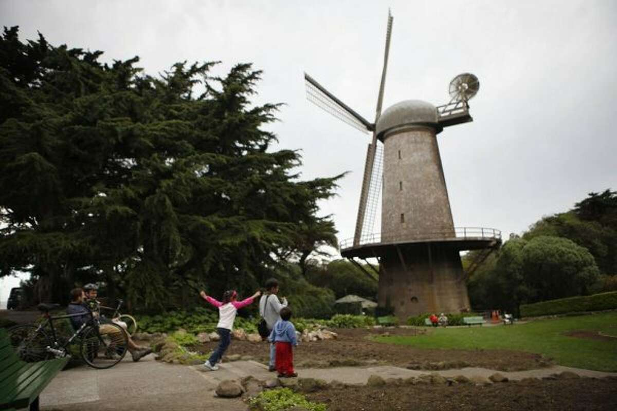 The Dutch Windmill in Golden Gate Park might seem out-of-place, but we love it nonetheless.