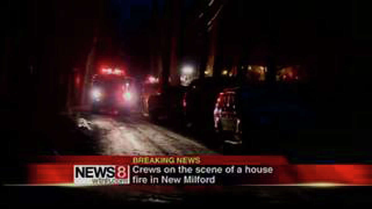 Firefighters responded to a one-alarm fire that gutted a house in the Gaylordsville part of New Milford Wednesday morning, March 7, 2012.