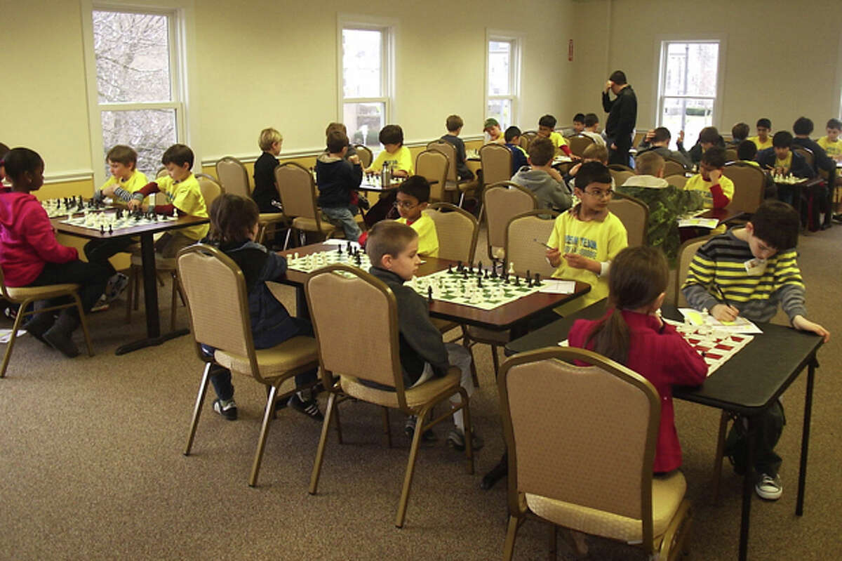 The Chess Club of Fairfield Countyís ìDream Teamî competes against the National Educational Chess Association Sunday, March 4, 2012.