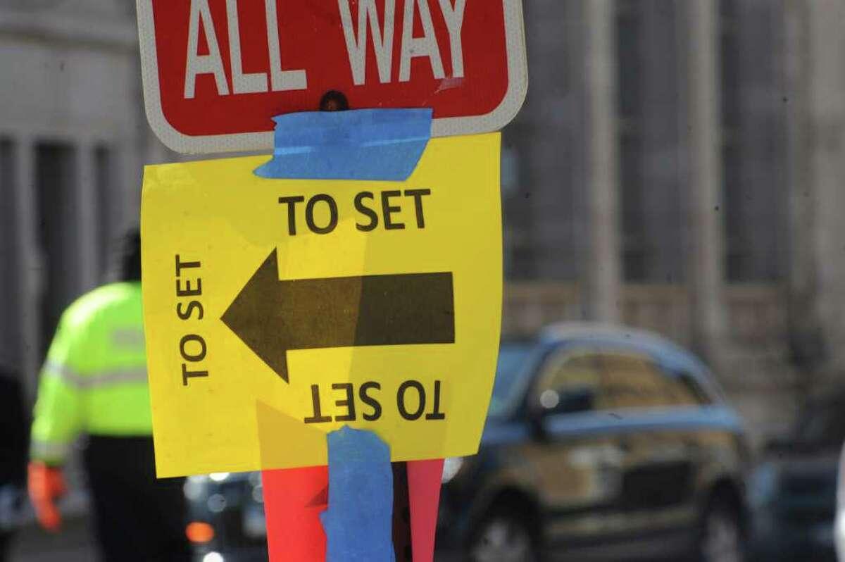 """Showtime's """"The Big C"""" shot scenes at Morello Italian Bistro in Greenwich Avenue Tuesday, March 6, 2012."""