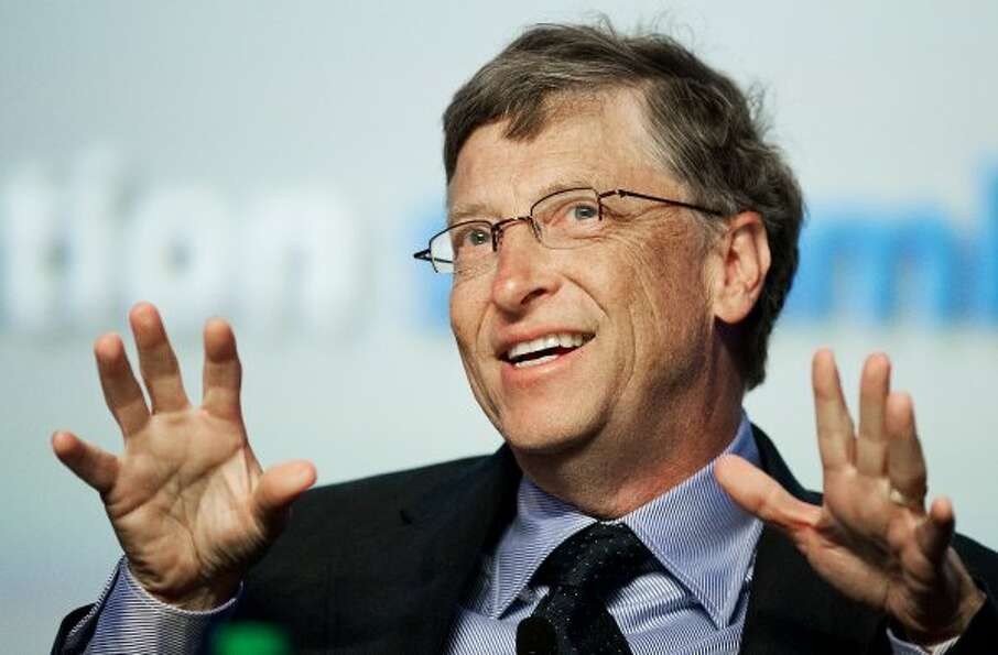 Microsoft Chairman Bill Gates: Estimated net worth — $62.7 billion