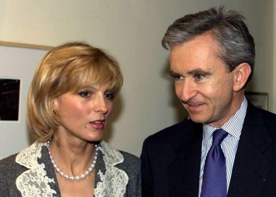 Louis Vuitton Moet Hennesy French group chairman Bernard Arnault: Estimated net worth — $28.8 billion