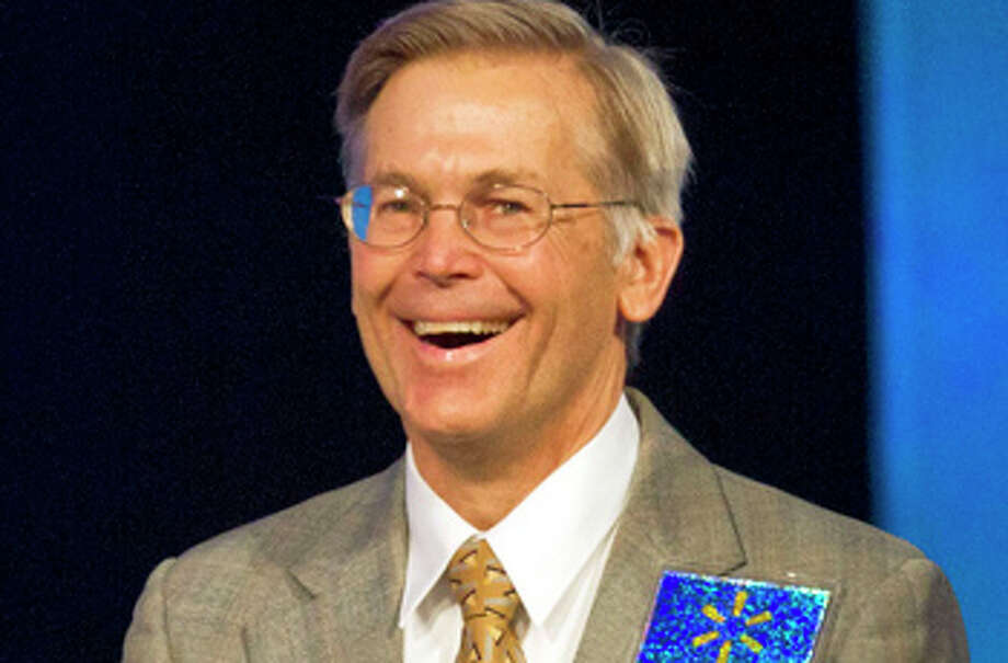 Jim Walton is worth an estimated $33.8 billion, according to Forbes.  Photo: Beth Hall, Bloomberg / © 2011 Bloomberg Finance LP