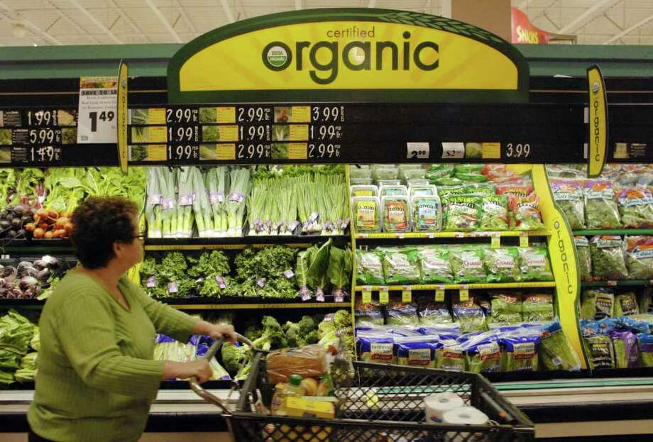 Organic food sales are on the rise. But is it a trend just yet? Photo: MICHAEL P. FARRELL / ALBANY TIMES UNION
