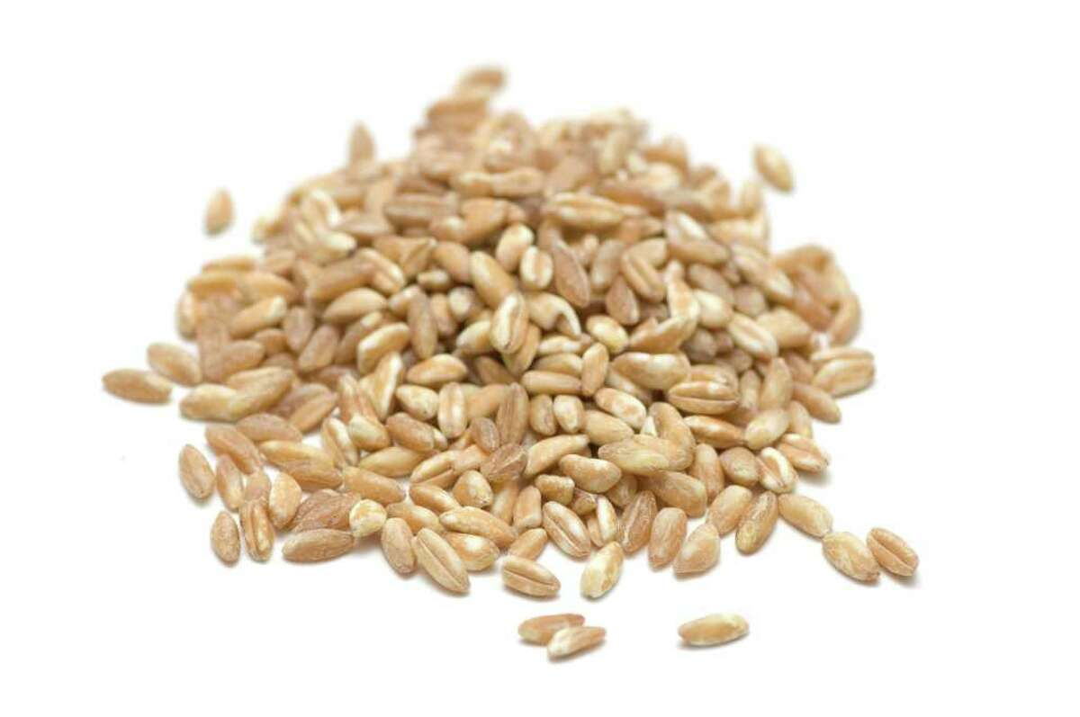 Farro is high in protein, vitamins and antioxidants.