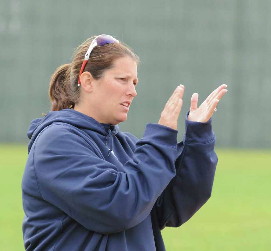 Manvel softball coach Christa Williams-Yates Photo: L. Scott Hainline / For The Chronicle