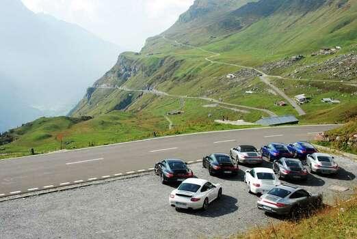 Porsche alps