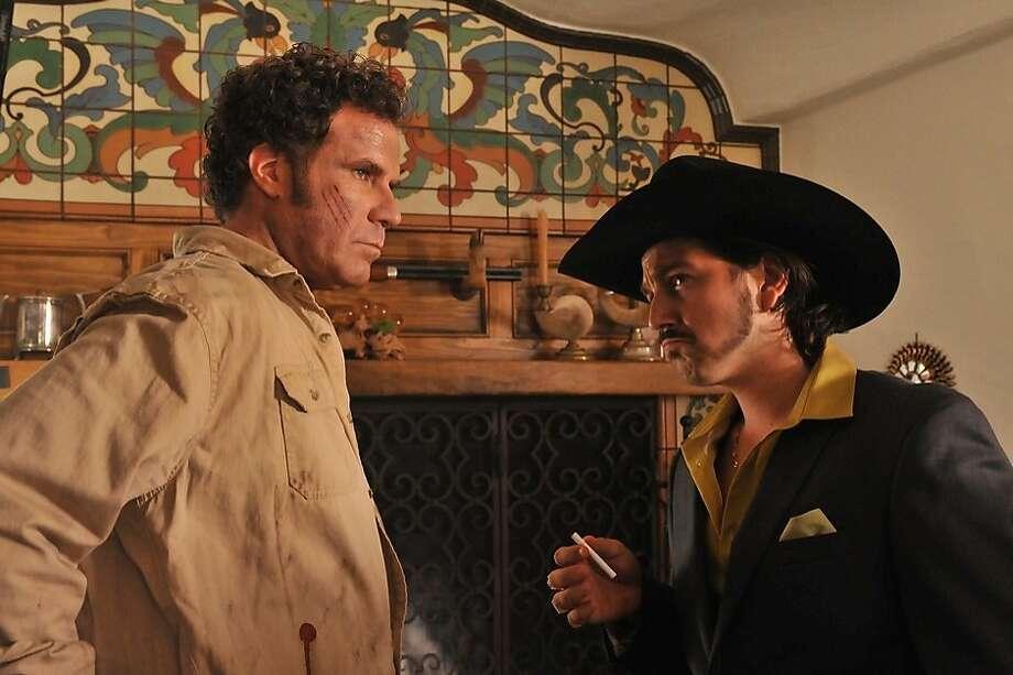 "Will Ferrell and Diego Luna star in ""Casa de mi Padre."" Photo: Pantheon"