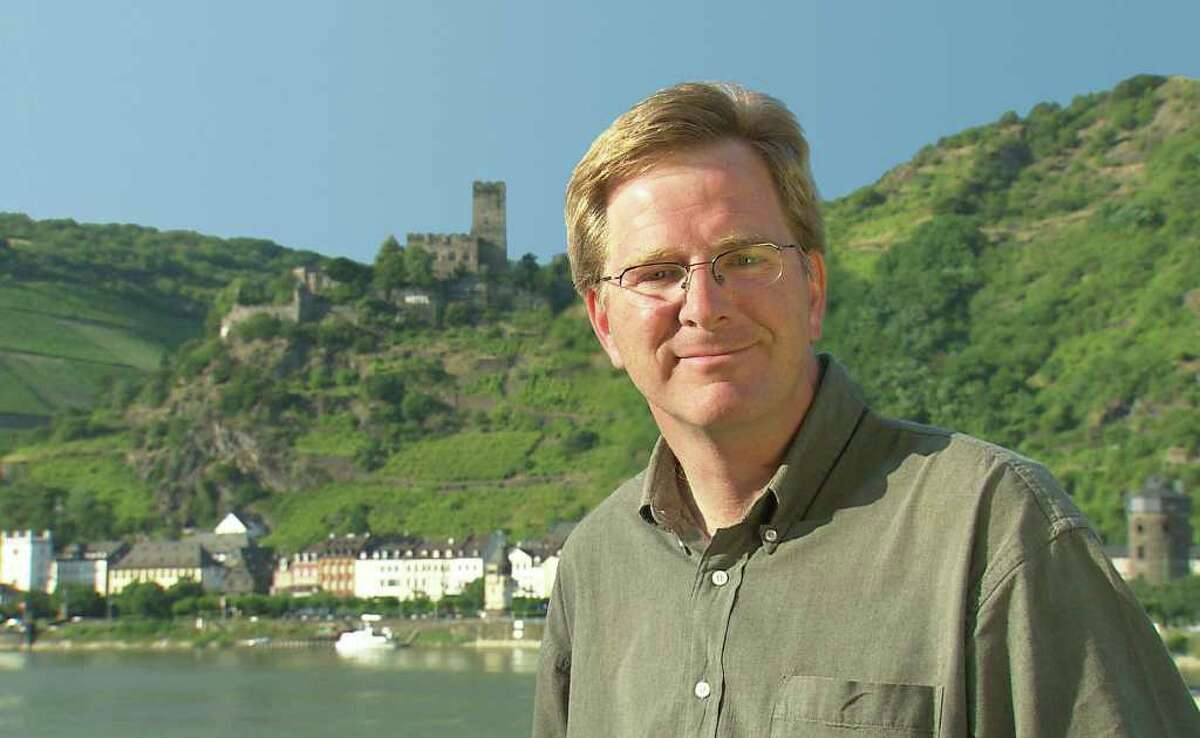 Rick Steves is a European guidebook author and PBS travel show host.
