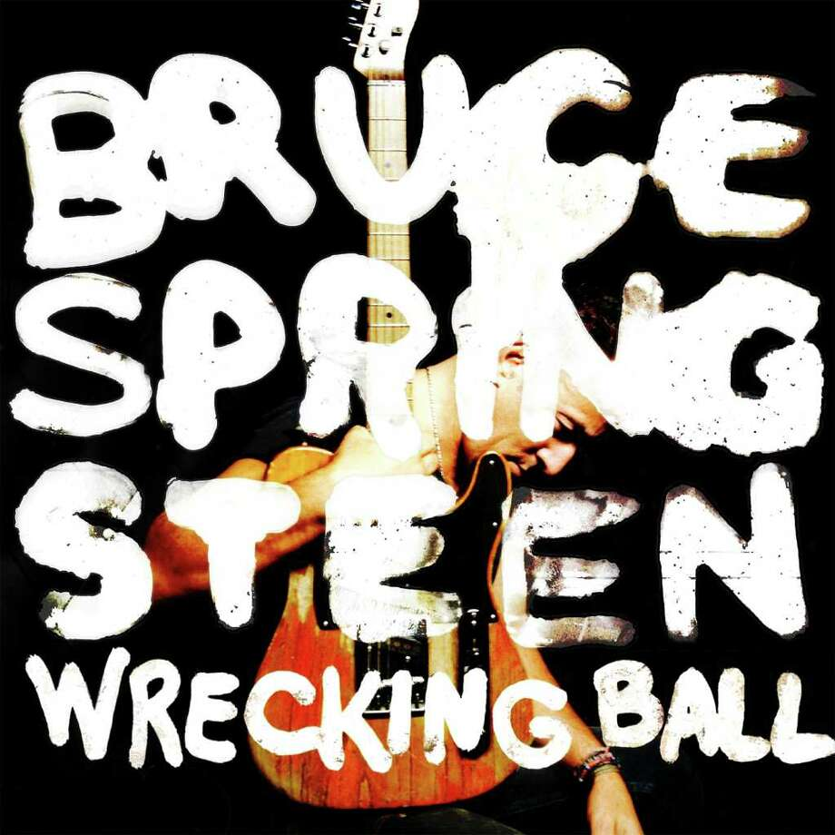 "In this CD cover image released by Columbia Records, the latest release by Bruce Springsteen, ""Wrecking Ball,"" is shown. Photo: AP"