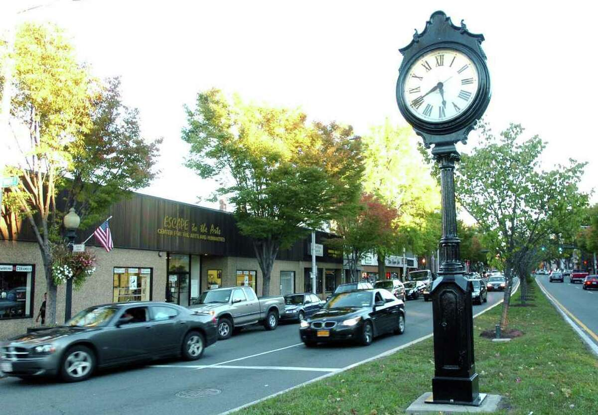 Main Street, Danbury is shown in this file photo from Oct. 8, 2010.