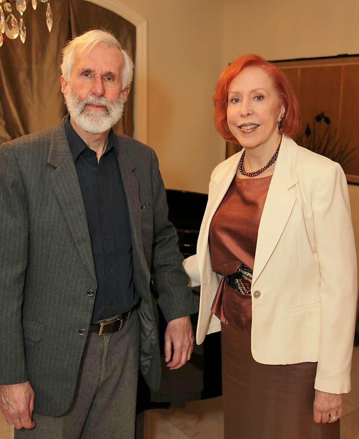 John Cepelak, composer, and Christina Rose, librettist, of,