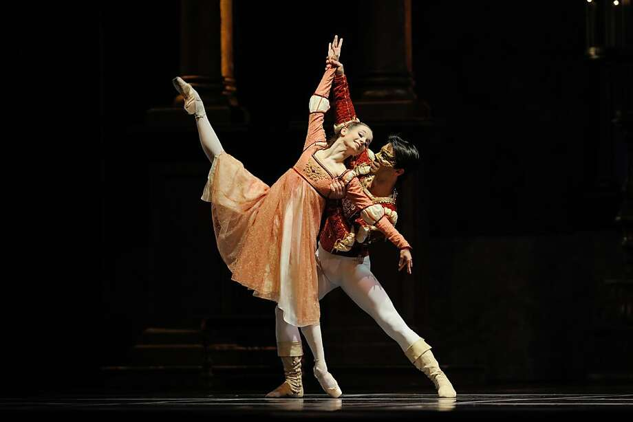 Maria Kochetkova and Joan Boada in Tomasson's Romeo & Juliet. Photo: Erik Tomasson, SF Ballet