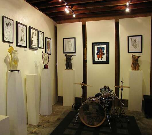 3. Refined by Fire Gallery is a small art gallery focused on works by local artists. Photo: Stephanie Wright Hession