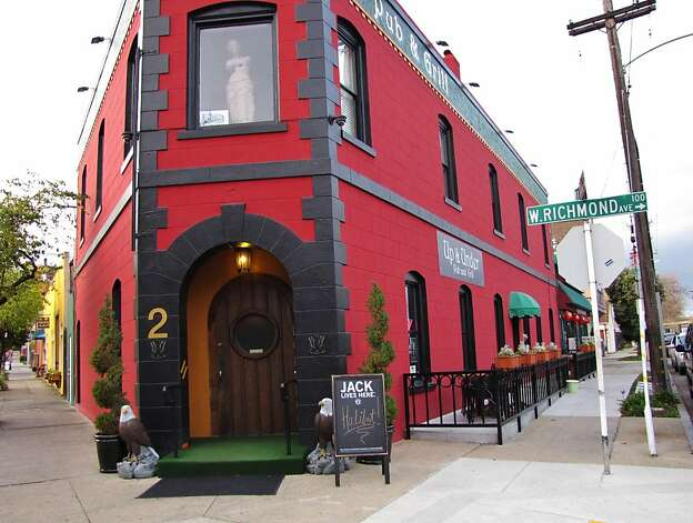 Up and Under is a rugby-themed pub and grill. Photo: Stephanie Wright Hession