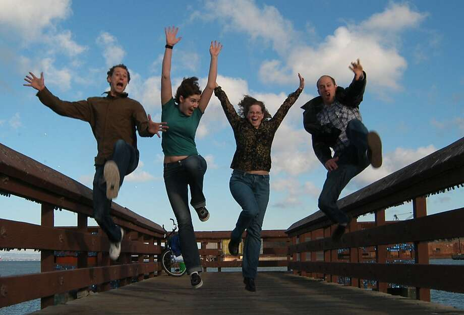 The Crazies Will Destroy You: David Kurtz (from left), Jade Argento, Tina Davis, Tony Schoenberg. Photo: Romeo McSwain