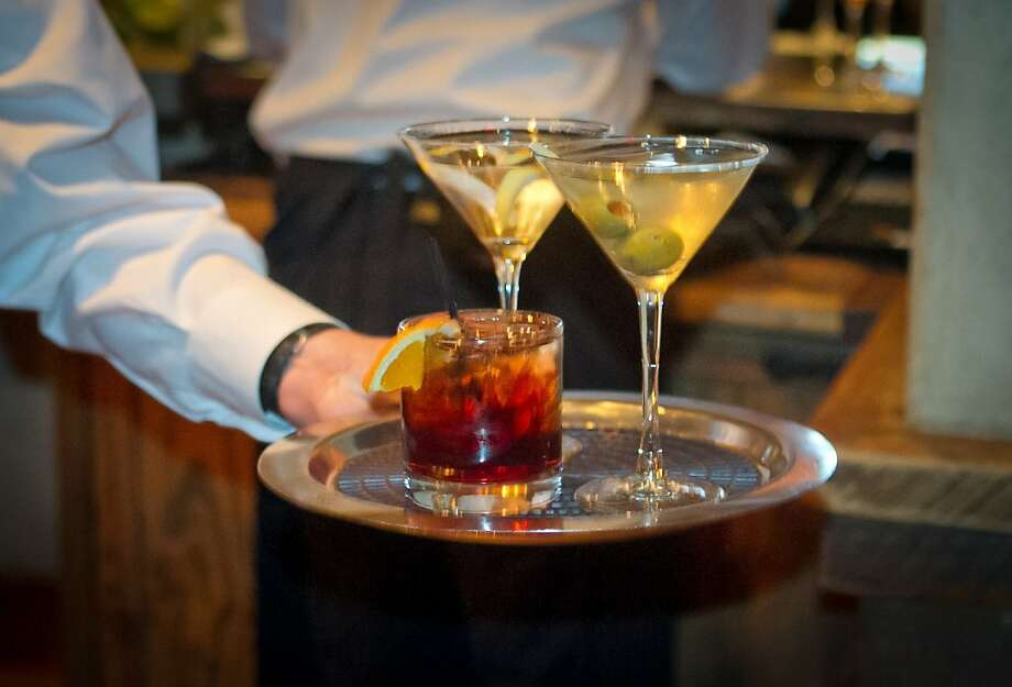 There is no cocktail list, but plenty are offered at Kokkari. Photo: John Storey
