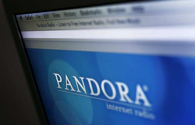 Pandora Media stock fell after its backing of reduced royalties was criticized by artists. Photo: Victor J. Blue, Bloomberg