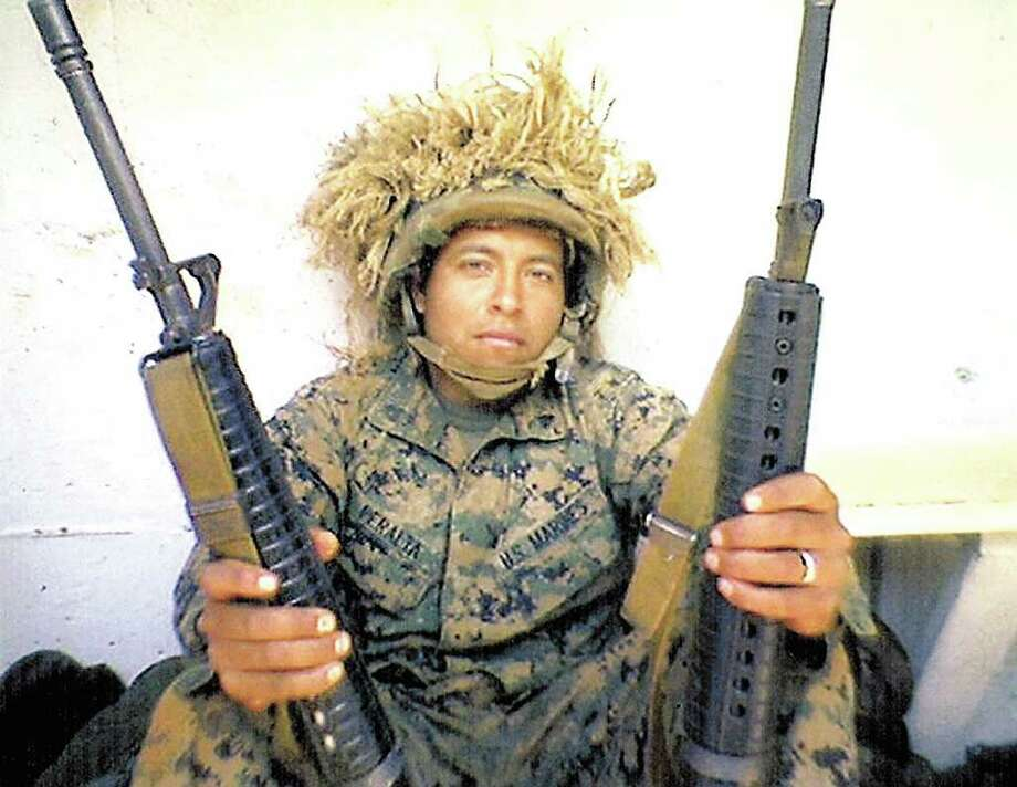 Sgt. Rafael Peralta was killed in action in Iraq. Photo: Courtesy, History Channel