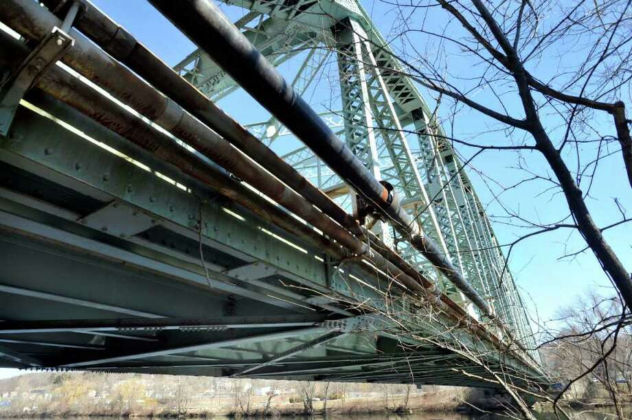This is a view of Veterans Bridge in New Milford Tuesday, March 6, 2012. Photo: Michael Duffy