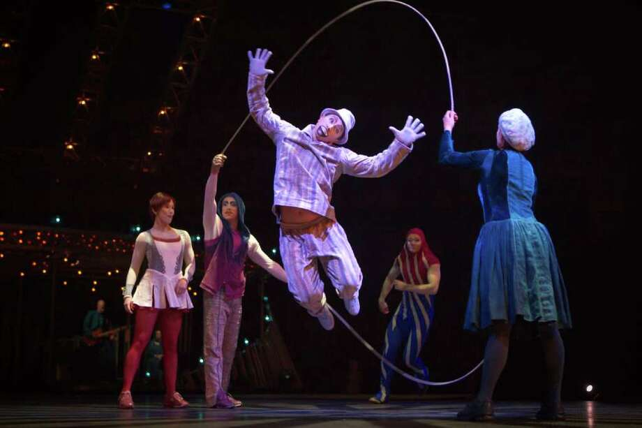 "Cirque du Soleil's ""Quidam"" lands at the Freeman Coliseum Wednesday March14 for a five-day run. Photo: Matt Beard / Matt Beard"